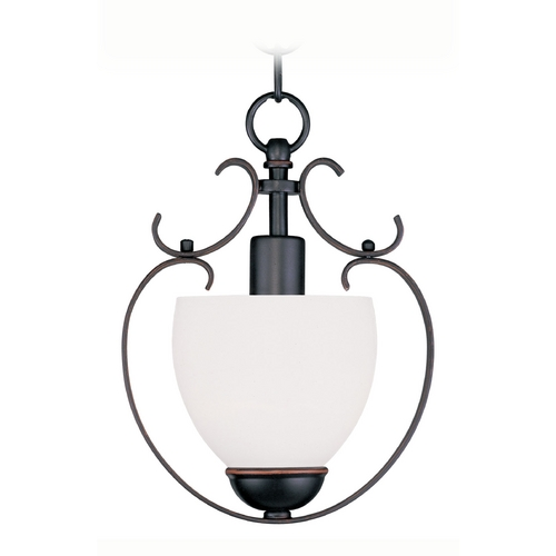 Livex Lighting Livex Lighting Brookside Olde Bronze Mini-Pendant Light 4760-67