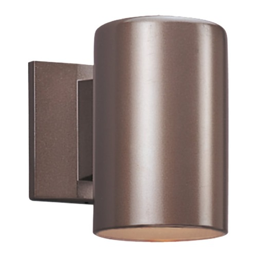Sea Gull Lighting Sea Gull Lighting Outdoor Bullets Bronze LED Outdoor Wall Light 8313891S-10