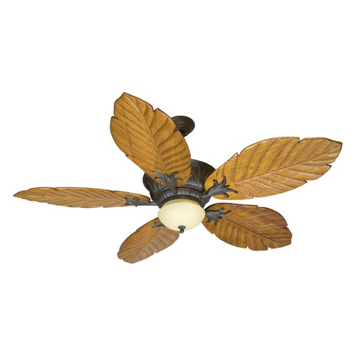 Craftmade Lighting Craftmade Lighting Pavilion Aged Bronze Textured Ceiling Fan with Light K10344