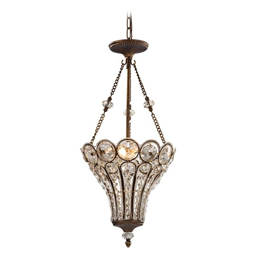Elk Lighting Elk Lighting Christina Mocha Pendant Light 12032/3
