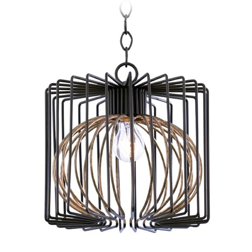 Kalco Lighting Kalco Metro Iii Bronze Gold Pendant Light 502450BZG