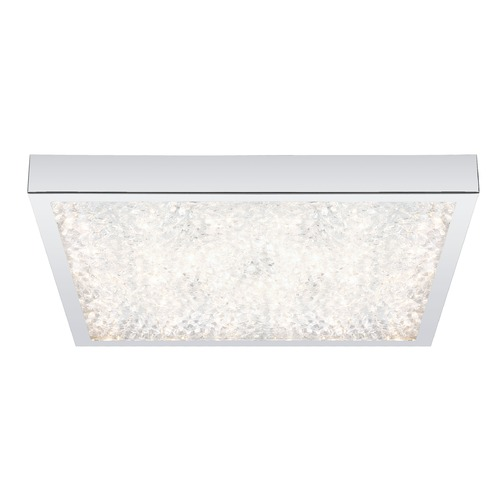 Eglo Lighting Eglo Cardito Chrome LED Flushmount Light 92781A
