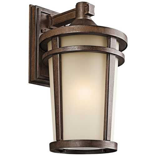 Kichler Lighting Kichler Outdoor Wall Light in Brown Stone Finish 49073BST