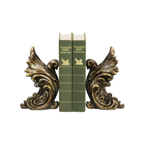 Sterling Lighting Decorative Gothic Gargoyle Bookends 93-5527