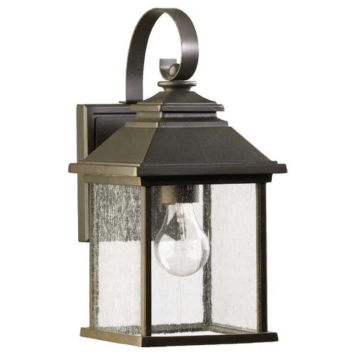 Quorum Lighting Quorum Lighting Pearson Oiled Bronze Outdoor Wall Light 7940-7-86