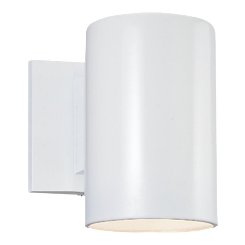 Sea Gull Lighting Sea Gull Lighting Outdoor Bullets White LED Outdoor Wall Light 8313891S-15