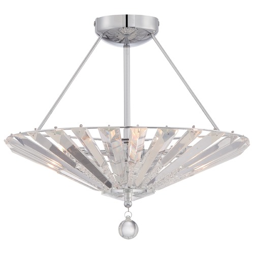 Quoizel Lighting Quoizel Platinum Collection Superior Polished Chrome Semi-Flushmount Light PCSP1718C