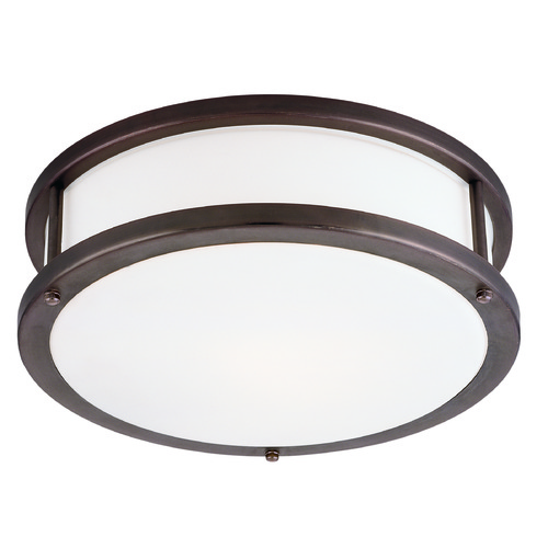 Access Lighting Access Lighting Conga Bronze LED Flushmount Light 50080LEDD-BRZ/OPL