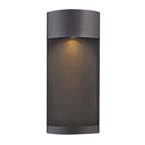 Hinkley Black LED Outdoor Wall Light 17.25-Inch Tall by Hinkley 2307BK-LL