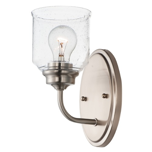 Maxim Lighting Maxim Lighting Acadia Satin Nickel Sconce 12261CDSN