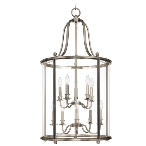 Hudson Valley Lighting Pendant Light with Clear Glass in Polished Nickel Finish 1320-PN