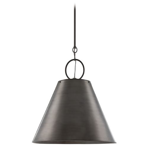 Hudson Valley Lighting Modern Pendant Light in Historic Nickel Finish 5519-HN