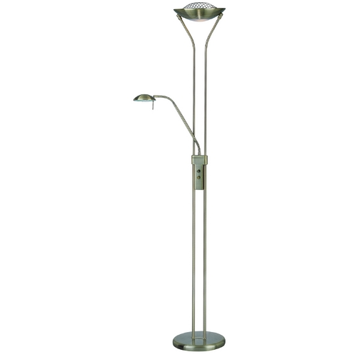 Lite Source Lighting Duality II Torchiere Lamp LS-80984AB