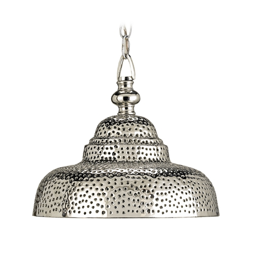 Currey and Company Lighting Pendant Light in Nickel Finish 9114