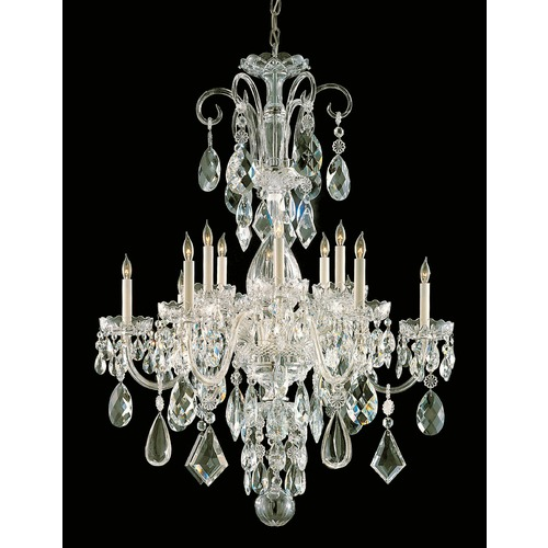 Crystorama Lighting Crystorama Lighting Traditional Crystal Polished Brass Chandelier 1045-PB-CL-MWP