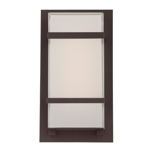 Modern Forms by WAC Lighting Modern Forms Phantom Bronze LED Outdoor Wall Light WS-W1611-BZ