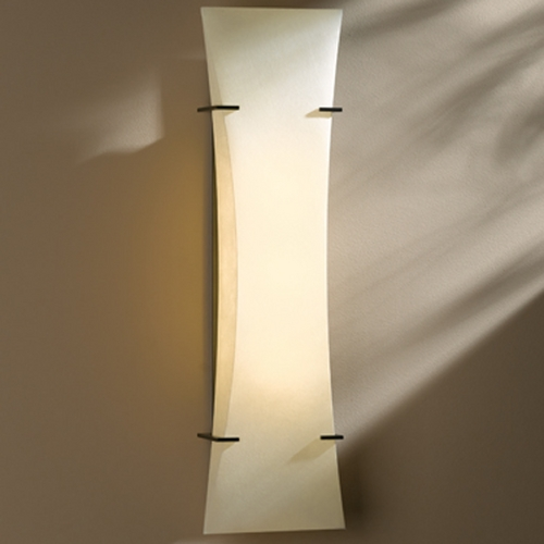 Hubbardton Forge Lighting Hubbardton Forge Lighting Bento Dark Smoke Sconce 205950F-07-804
