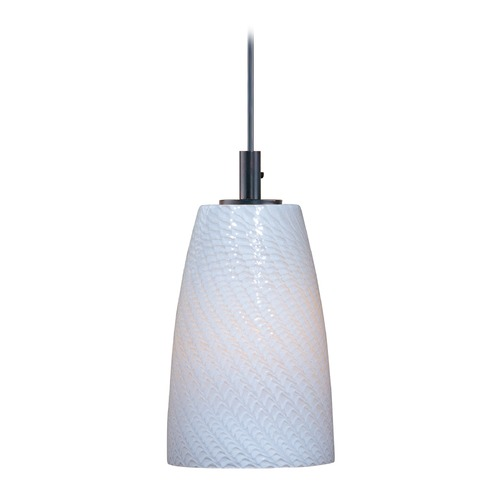 ET2 Lighting Carte Satin Nickel Mini-Pendant Light E91041-13SN