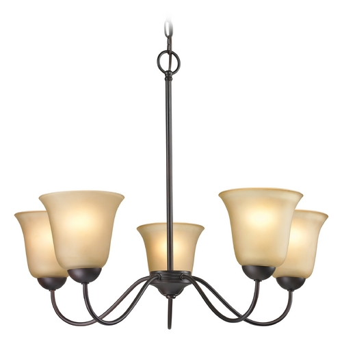 Cornerstone Lighting Cornerstone Lighting Conway Oil Rubbed Bronze Chandelier 1205CH/10