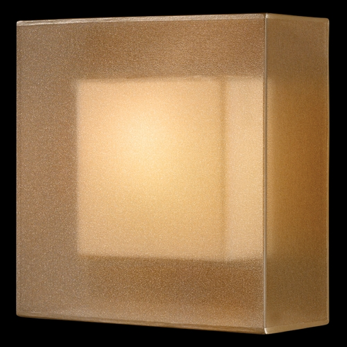 Fine Art Lamps Fine Art Lamps Quadralli Rich Bourbon with Golden Mist Highlights Sconce 330950ST