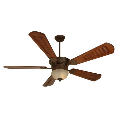 Craftmade Lighting Craftmade Lighting Dc Epic Aged Bronze Textured Ceiling Fan with Light K10684