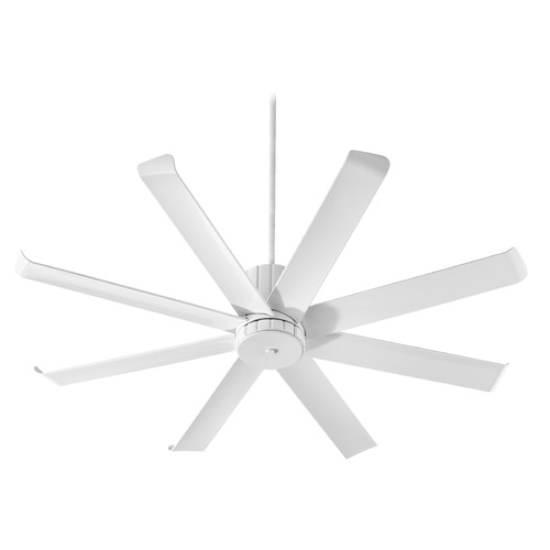Quorum Lighting Quorum Lighting Proxima Patio Studio White Ceiling Fan Without Light 196608-8
