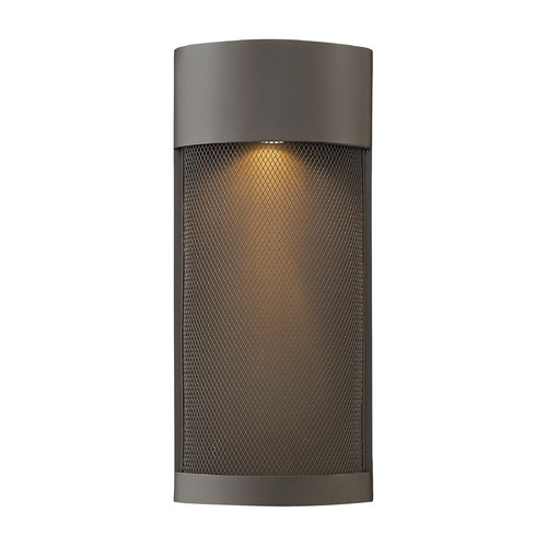 Hinkley Bronze LED Outdoor Wall Light 17.25-Inch Tall by Hinkley 2307KZ-LL