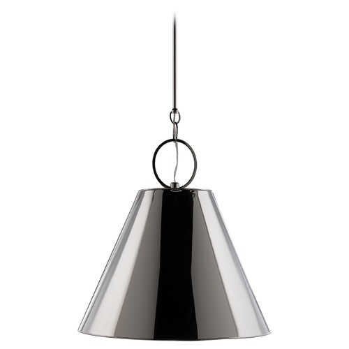 Hudson Valley Lighting Modern Pendant Light in Polished Nickel Finish 5519-PN
