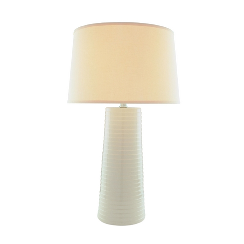 Lite Source Lighting Lite Source Lighting Ashanti Beige Table Lamp with Drum Shade LSF-20830IVY