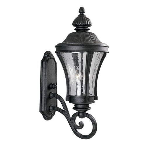 Progress Lighting Progress Outdoor Wall Light with Clear Glass in Gilded Iron Finish P5838-71