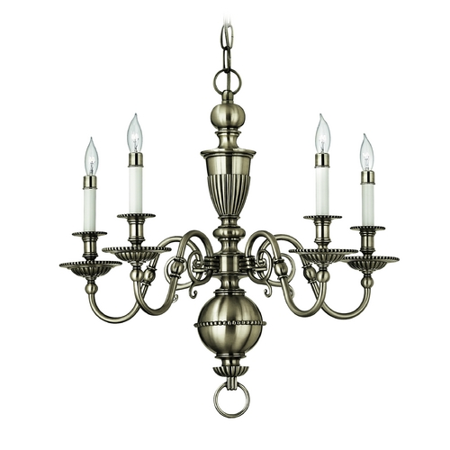Hinkley Lighting Chandelier in Pewter Finish 4415PW