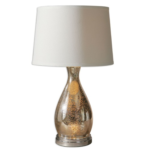 Uttermost Lighting Uttermost Sardinia Silver Table Lamp 26574