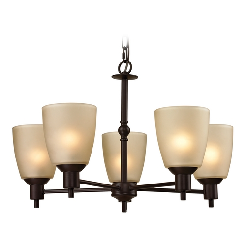 Cornerstone Lighting Cornerstone Lighting Jackson Oil Rubbed Bronze Chandelier 1305CH/10