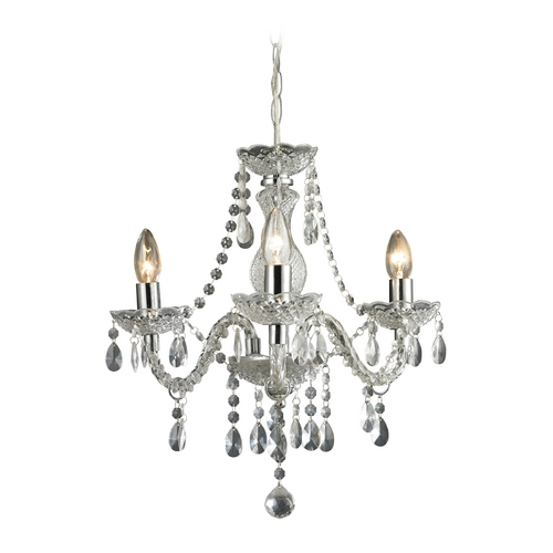 Sterling Lighting Sterling Lighting Clear / Chrome Crystal Chandelier 144-015