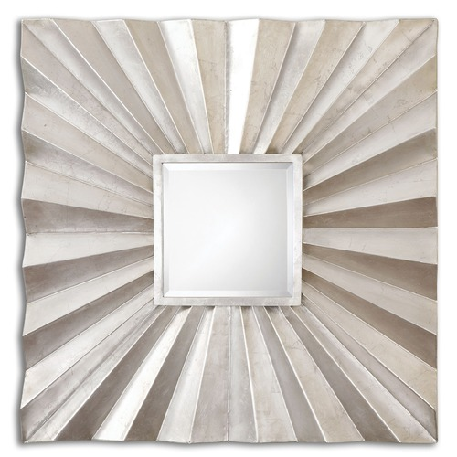 Uttermost Lighting Uttermost Adelmar Metal Square Mirror 07684