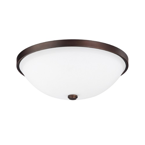Capital Lighting Capital Lighting Covington Burnished Bronze Flushmount Light 2325BB-SW