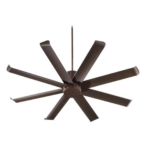 Quorum Lighting Quorum Lighting Proxima Patio Oiled Bronze Ceiling Fan Without Light 196608-86