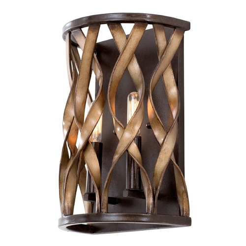 Kalco Lighting Kalco Soho Milk Chocolate Sconce 501820MC