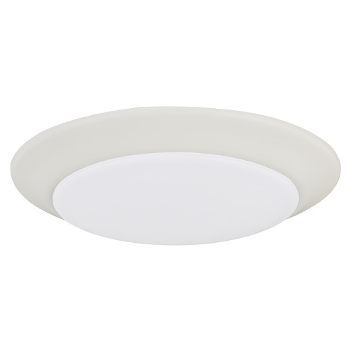 HomePlace by Capital Lighting Homeplace By Capital Lighting White LED Flushmount Light 223611WT-LD30