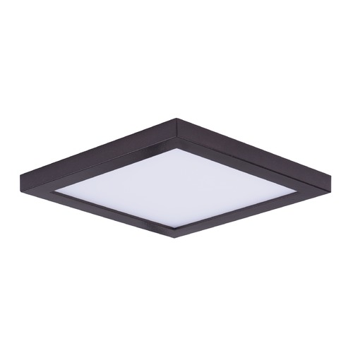 Maxim Lighting Maxim Lighting Wafer Bronze LED Flushmount / Wall Light - 75-Watt Equivalent 57722WTBZ