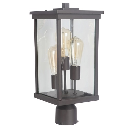 Craftmade Lighting Craftmade Lighting Riviera IIi Oiled Bronze Post Light Z9725-92