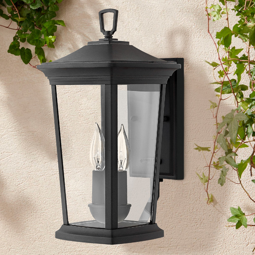 Hinkley Black Outdoor Wall Light by Hinkley 2360MB