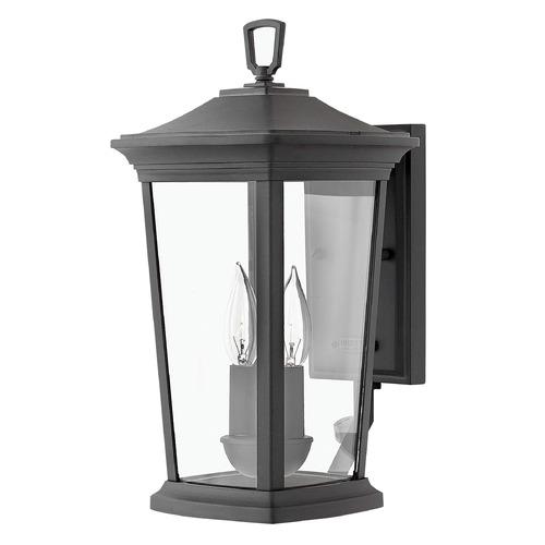 Hinkley Montreal Pedestal Light: Black Outdoor Wall Light By Hinkley Lighting