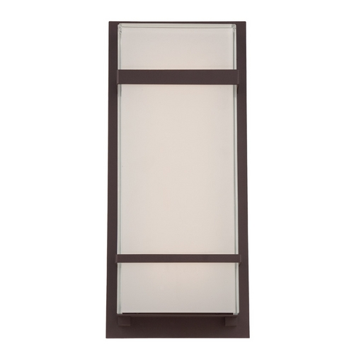 Modern Forms by WAC Lighting Modern Forms Phantom Bronze LED Outdoor Wall Light WS-W1616-BZ