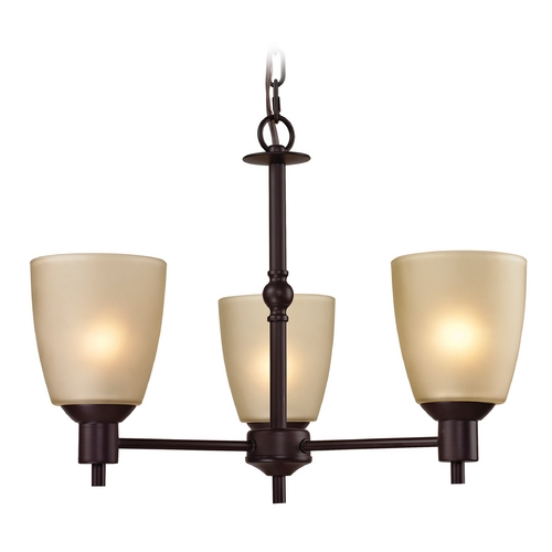 Cornerstone Lighting Cornerstone Lighting Jackson Oil Rubbed Bronze Chandelier 1303CH/10