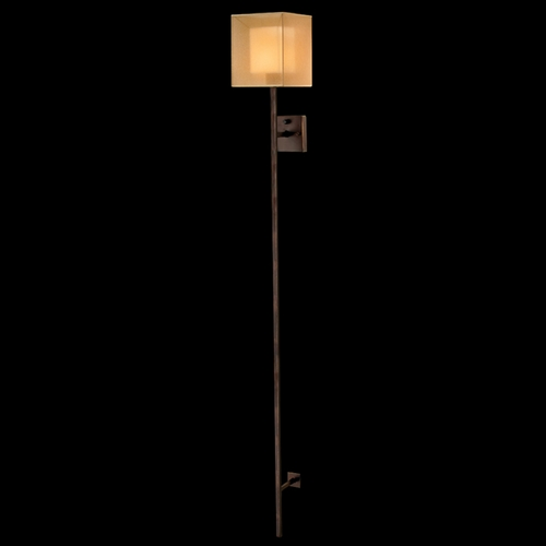 Fine Art Lamps Fine Art Lamps Quadralli Rich Bourbon with Golden Highlights Sconce 427250ST