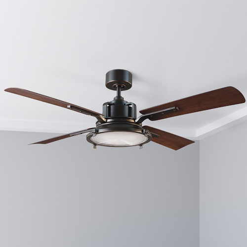 Modern Forms by WAC Lighting Modern Forms Oil Rubbed Bronze 56-Inch LED Smart Ceiling Fan 2041LM 3000K FR-W1818-56L-OB/DW