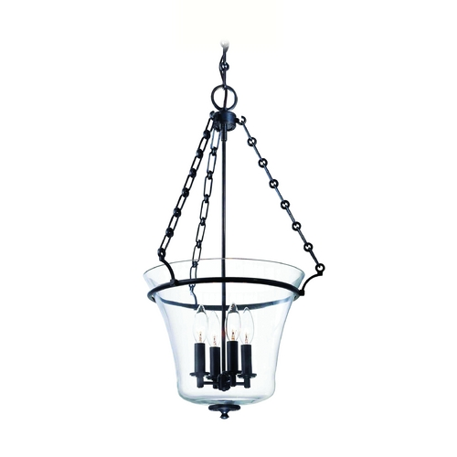 Hudson Valley Lighting Pendant Light with Clear Glass in Old Bronze Finish 833-OB
