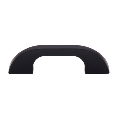 Top Knobs Hardware Modern Cabinet Pull in Flat Black Finish TK44BLK