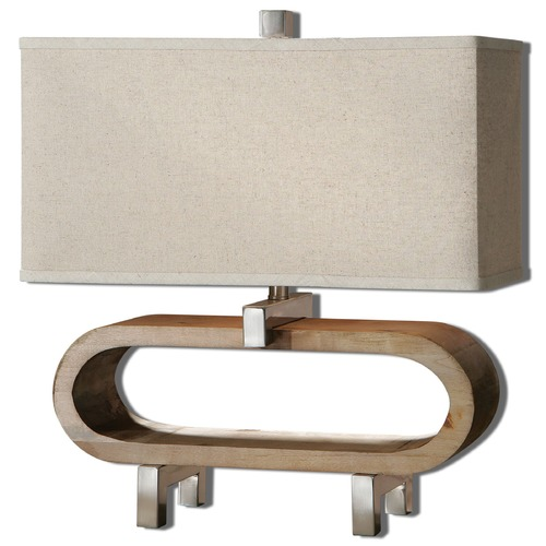 Uttermost Lighting Uttermost Medea Wood Accent Lamp 26576-1